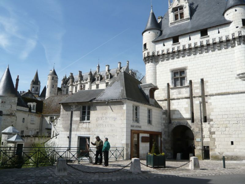 LOCHES - Avril 2008