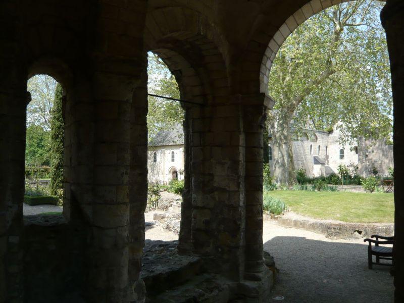 Le prieuré de Saint-Cosme - Mai 2008